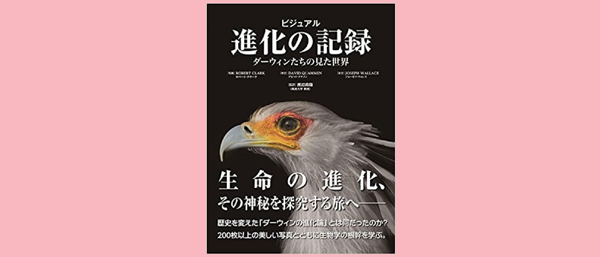 『ビジュアル 進化の記録』(ポプラ社) 200枚以上の美しい写真の数々!!
